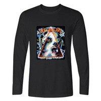 New Xxs 4xl DEF LEPPARD Rock Band Long Sleeve T Shirt Men Slim Fit TShirts And