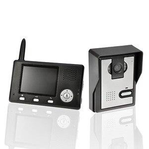 "Image 2 - Yobang 보안 freeship 2.4 ghz 3.5 ""tft 무선 비디오 도어 폰 인터폰 초인종 홈 보안 1 카메라 1 모니터 초인종"