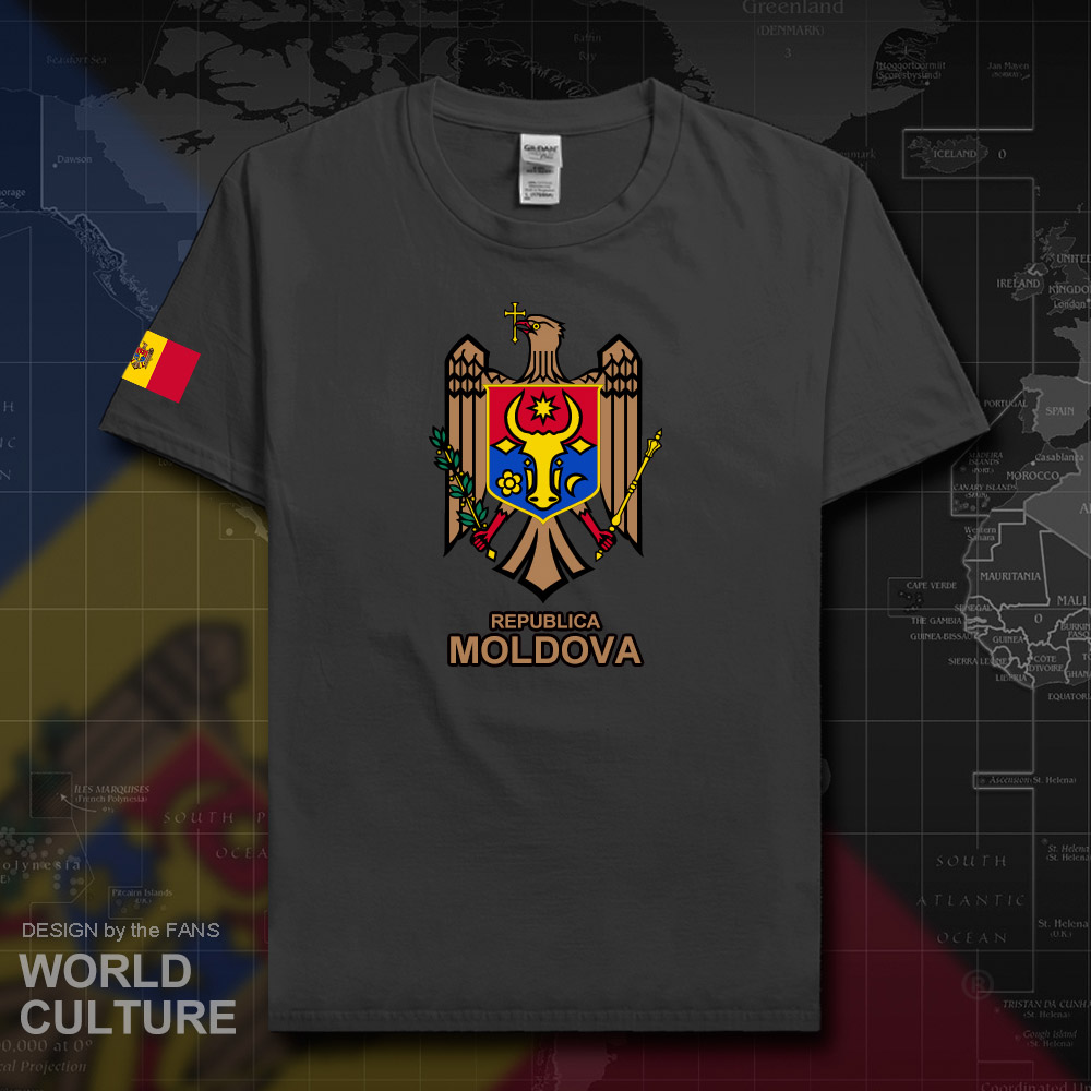 Moldova Moldovan Mda Md Men T Shirt Fashion 2018 Jersey Nation Team