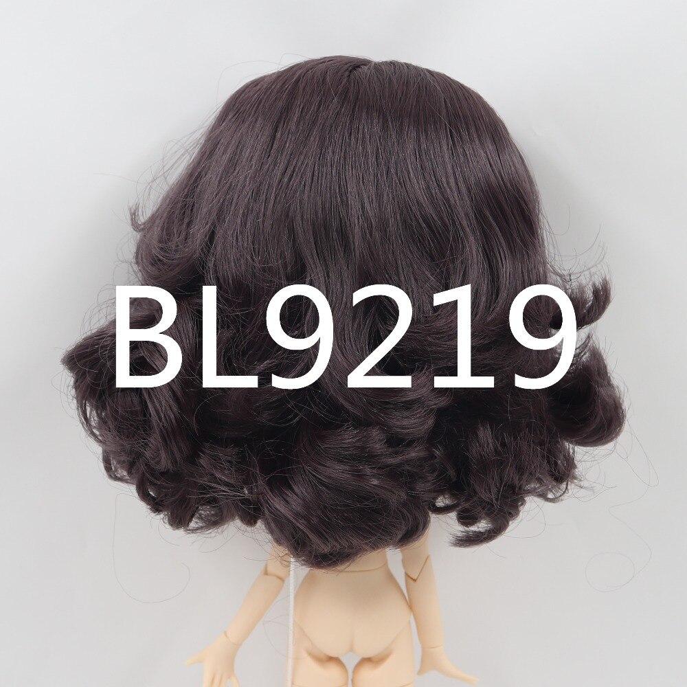 Neo Blythe Doll Black Hair with Takara RBL Scalp Dome 1