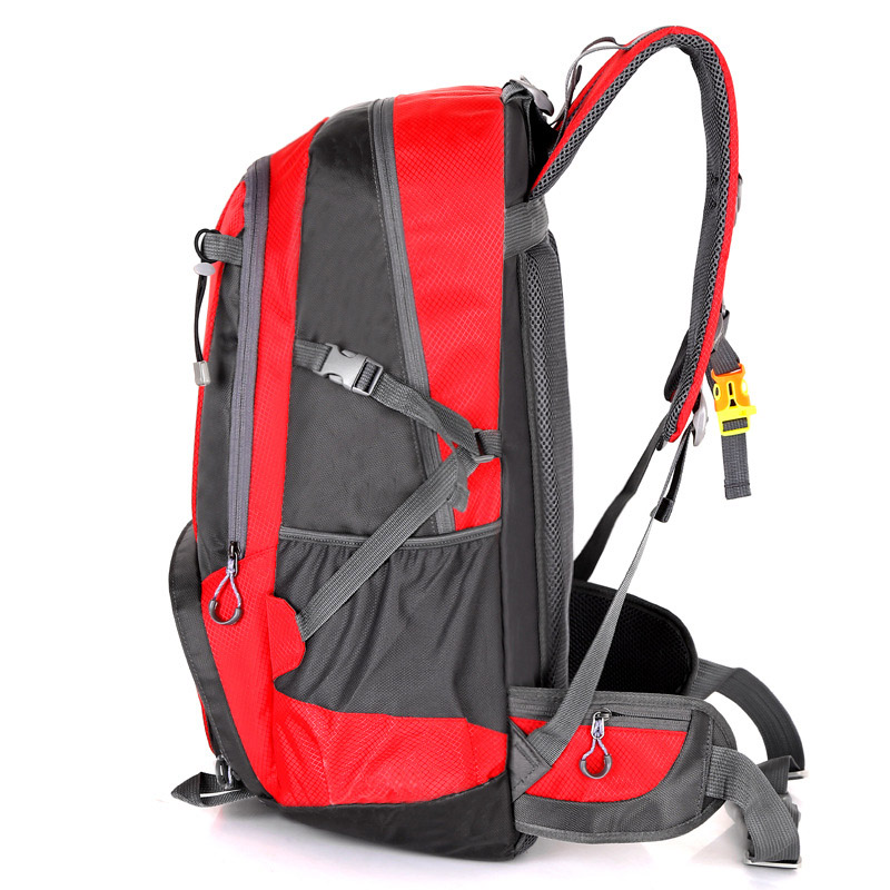 55L Large Capacity Sport Outdoor Backpack Waterproof Travel Camping Backpack Bag Climbing Hiking Backpack Sport Bag Rucksack in Climbing Bags from Sports Entertainment