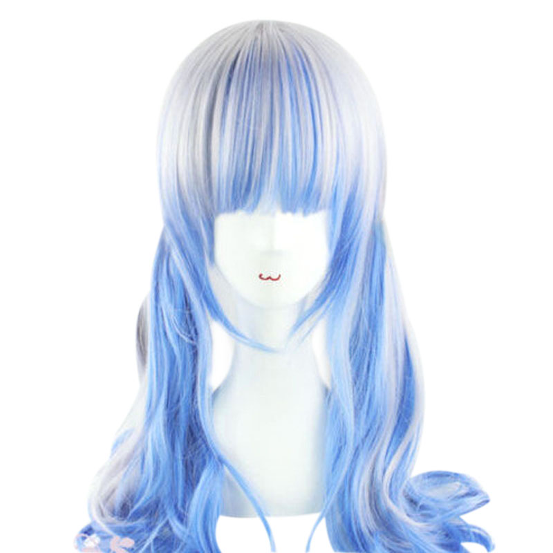 mcoser 60 cm silver blue synthetic