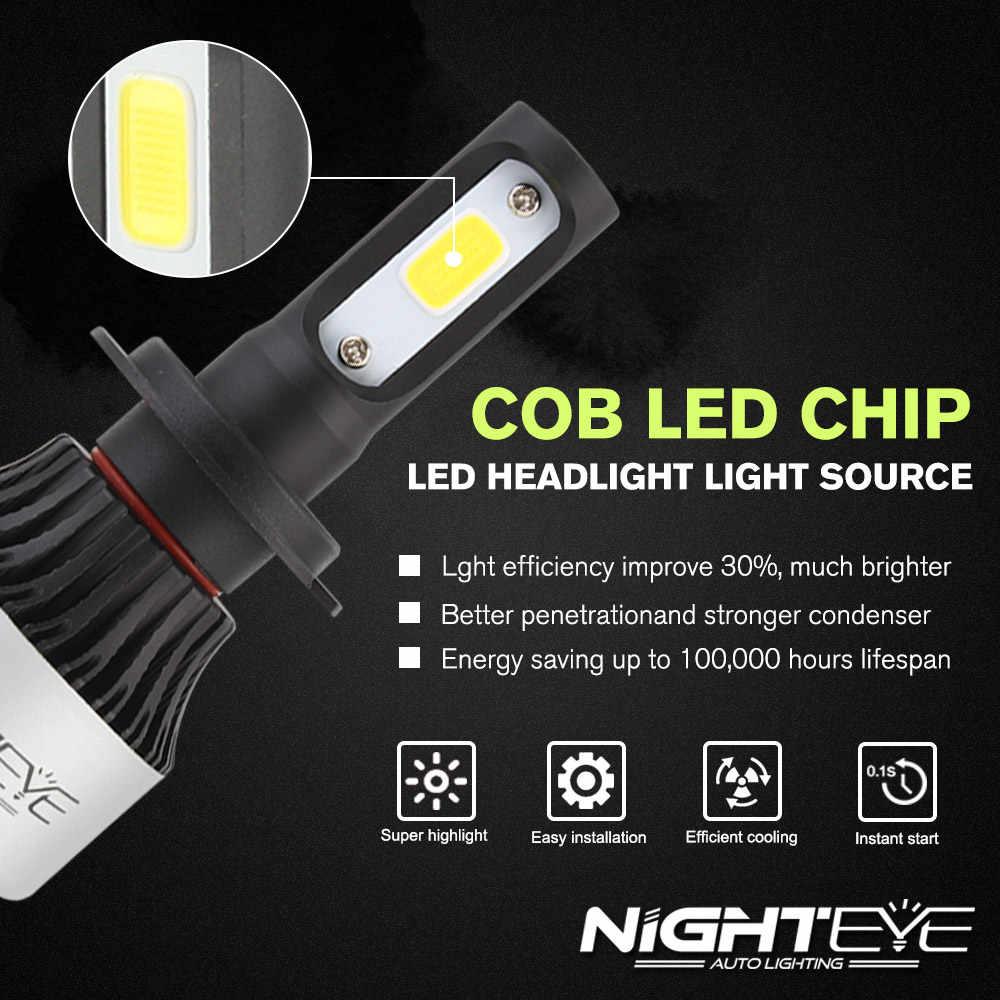 NIGHTEYE Super H7 Led lamp h1 h11 hb3 hb4 H4 Led auto Bulbs Car Light Bulbs Auto LED Lamps Front Car Bulbs H11 Fog Lamps HB3 HB4