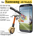 Para Samsung Galaxy S6 S7 A5 A3 G530 de vidrio templado de 0,3mm Ultra fino Protector de pantalla para Samsung J5 J3 S3 S4 S5 mini cubierta de película