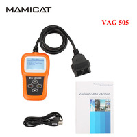 Super MINI CAG 505 Diagnostic Tool Code Sanner For Audi For VW Oil Reset Odometer VAG505 Free Shipping