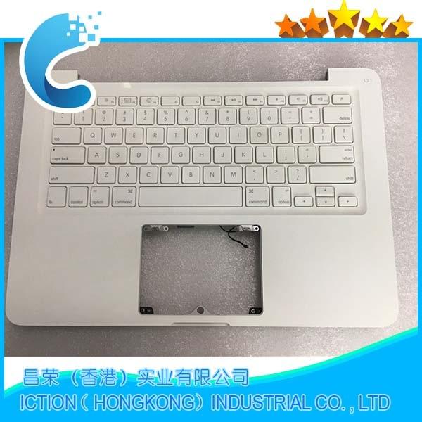 Genuine A1342 Topcase with US Keyboard for MacBook A1342 Topcase with US Keyboard 2016 genuine new for apple macbook 12 retina a1534 top case with keyboard uk english upper housing topcase mf855 mf865 emc2746