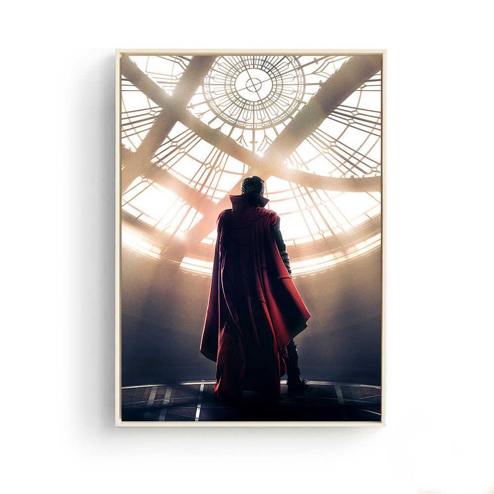 Doutor Estranho Marvel Comics Avengers Infinito Guerra Robert Fantasia Homem De Ferro Homem Aranha Filme Benedict Cumberbatch Cartaz Lona