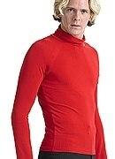 ballroom dancing latin dance men turtle neck long sleeve shirt MS01005 modern exercise shirt
