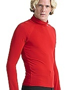 ballroom dancing latin dance men turtle neck long sleeve shirt MS01005 modern exercise shirt