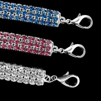 Comfortable Fashion Bling Dog Cat Jewelry Rhinestone Collar Pet  3