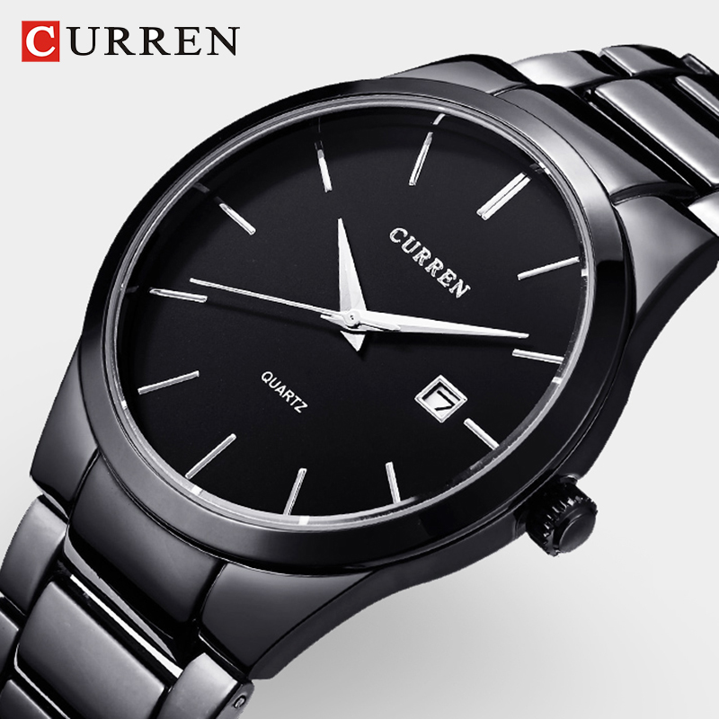 CURREN Men Watch top brand mens luxury watches Casual Fashion Business Quartz Wristwatches relogio masculino Sports Watches Men цена