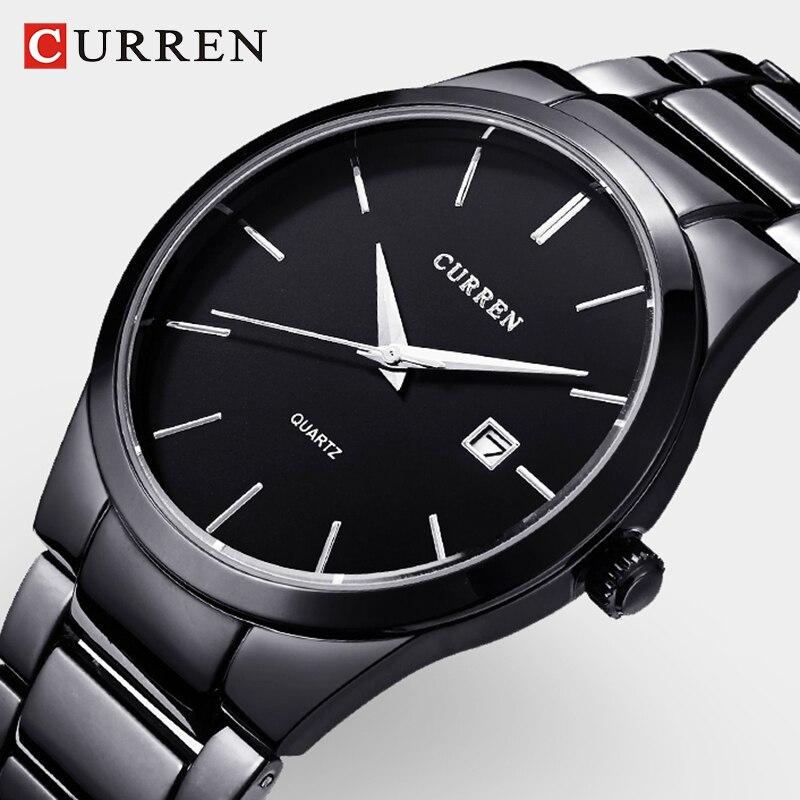 CURREN Men Watch top brand mens luxury watches Casual Fashion Business Quartz Wristwatches relogio masculino Sports Watches Men цена 2017