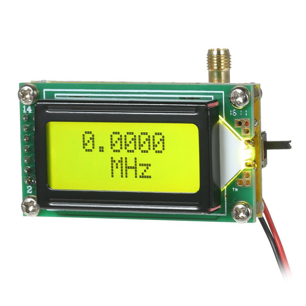Diy High Accuracy Cymometer Sensitivity 1 500 Mhz Frequency Counter Tachometer Schematic