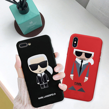 Karl Lagerfeld Phone Cases iPhone 6 7 8 Plus X XR XS Max