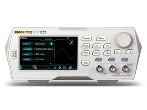 "Image 1 - Rigol DG822   25 MHz Function / Arbitrary Waveform Generator, 2 Channel 4.3"" TFT color touch screen"