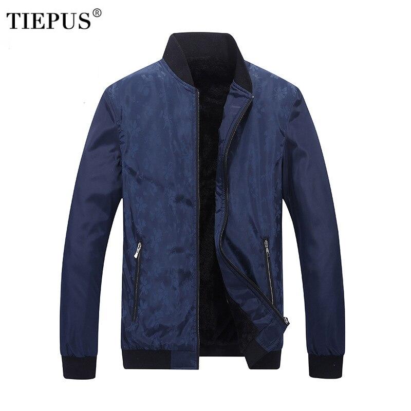 Jacket Men Fashion Casual Loose Mens Jacket Sportswear Bomber Jacket Mens Plus velvet jackets and Coats Plus Size M- 4XL 5XL