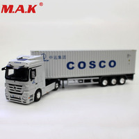 diecast alloy metal car big container 1:50 scale Express DHL truck model car styling transporter kids toys collection gifts