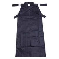 Free Shipping Hot Sale Top Quality Men Women Japanese Kendo Hakama aikido hakama Kungfu Uniforms aikido Martial Art Pants Blue