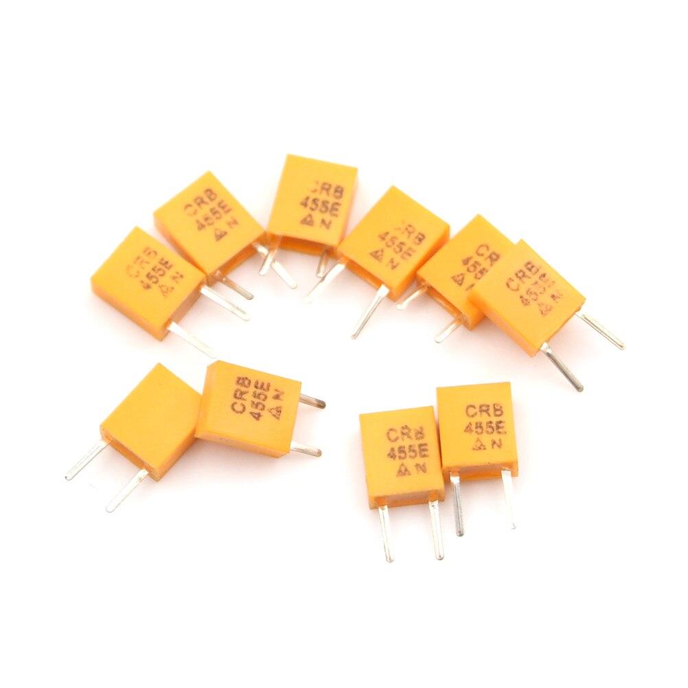 10 шт. желтый 455E 455 кГц 455K DIP-2 керамический кварцевый генератор 2pin оптом