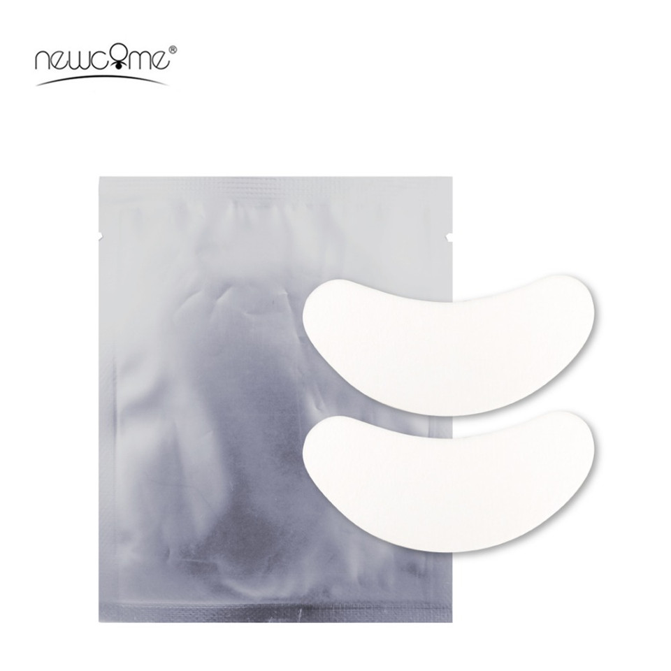 100 Pairs/lot Eye Pad For Eyelashes Extension Patches Eyelash Under Eye Pads Lash Extension Makeup And Accessories