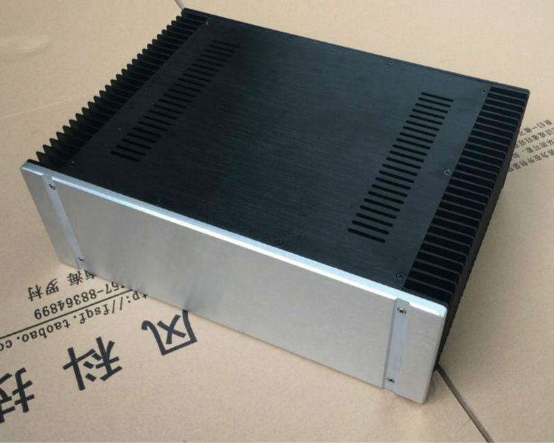 Aluminum 4315 Class A power amplifier Enclosure/chassis/case 430*150*311 with heatsink 10x 10 x lm35 lm35dz precision centigrade temperature sensors toogoo r