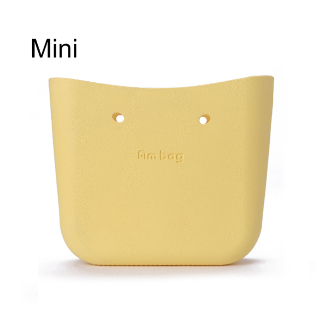 Many colours Mini Mid size 30cm x 10cm x 28cm  O bag obag style AMbag body women's fashion EVA handbag