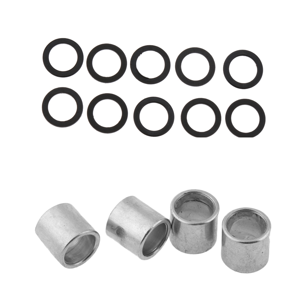 Metal Skateboard And Longboard Professional 4 Spacers & 10 Speed Washers Bearing Good Performance Speed Kit