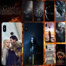 Phone Case For Xiaomi Redmi Note 5 6 7 5A 4 4X 3 3X 2 Prime Pro 6A 5A S2 Pocophone F1 Mi A2 Lite Game Of Thrones Seasons 8 Cover(China)