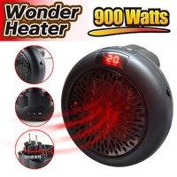 가정용 핫 팬 새로운 라운드 히터 가정용 미니 히터 공기 히트 프로세서 미니 팬 휴대용 벽 팬