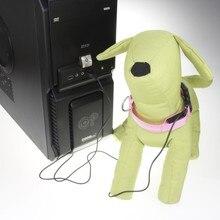 FE04  USB Charging Pet Dog Collar nylon collar luminous LED flash collars free shipping