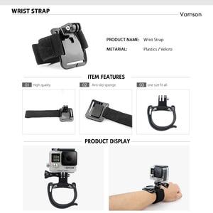 Image 5 - Accesorios de Vamson para Gopro Hero 9 8 7 6 correa para la cabeza correa para el pecho correa de casco Floaty Bobber Wrist Band para SJ4000 para Yi 4K VS71