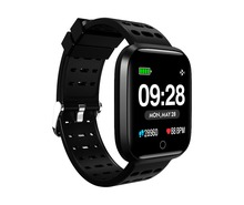 TENACHI Bluetooth Smart Watch Touchscreen Sport Smart Wrist Watch Fitness Tracker Compatible with iOS and Android memteq 1 54 lcd bluetooth smart wrist watch nfc for ios android samsung iphone i great 3 2 0m pixel smart watch