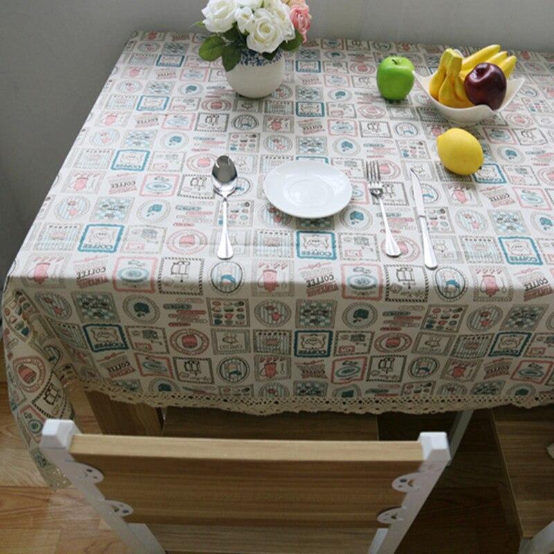 Table Cloth Coffee Tea Table Cloth Can Jug Bottle Christmas Linen Cotton Lace Sizes Japen Europe