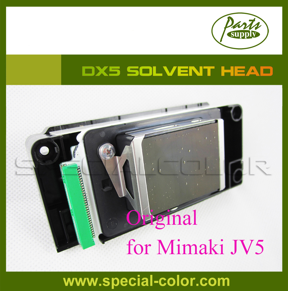 Original Eco Sovent dx5 printhead For Mimaki JV5/JV33 Printer (with Memory Board) best price mimaki jv33 jv5 ts3 ts5 piezo photo printer encoder raster sensor with h9730 reader for sale 2pcs lot