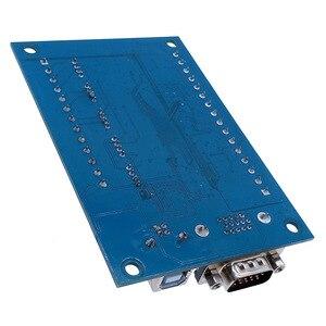 Image 5 - 5 osi CNC płyta sterownicza USB MACH3 tabliczka zaciskowa maszyny do grawerowania z MPG krokowy motion karta kontrolera