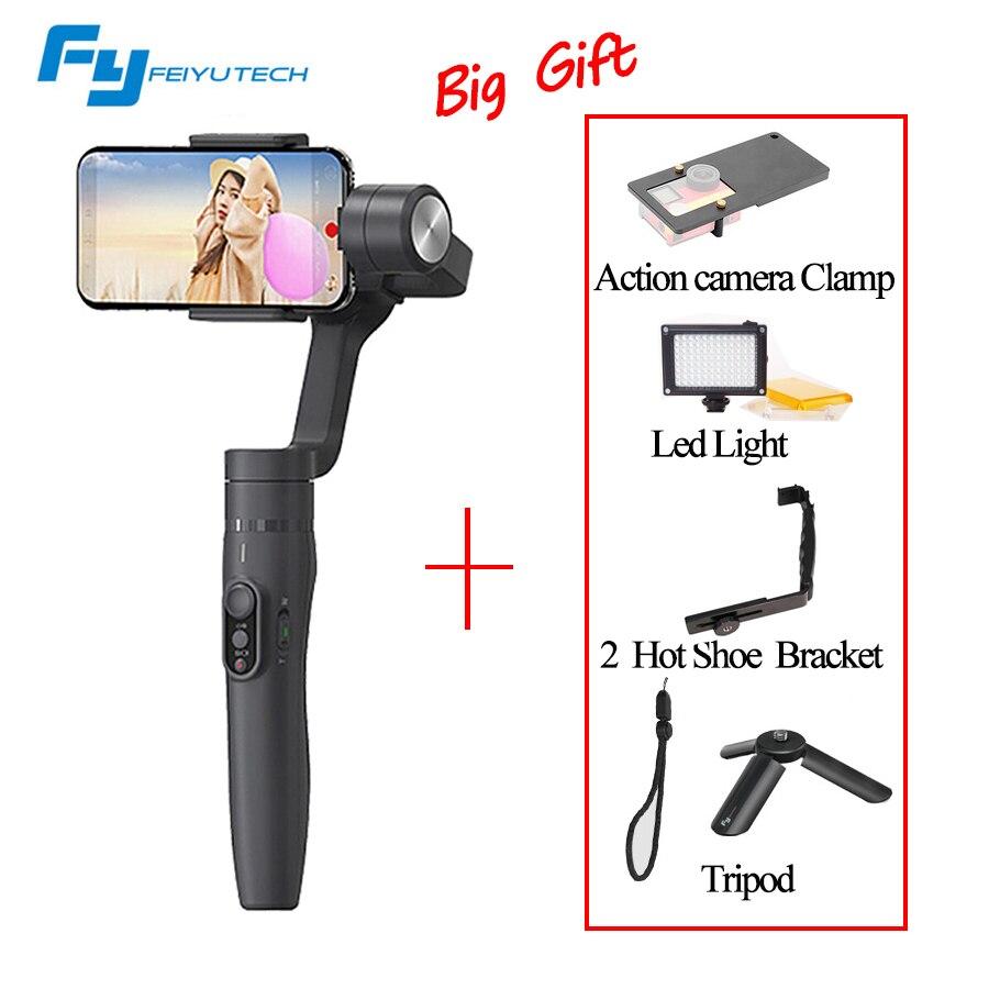 FeiyuTech Feiyu Vimble 2 Griff Gimbal Stabilizer 3-achsen erweiterte stange steadicam für action kamera Smartphone VS Zhiyun Glatt Q