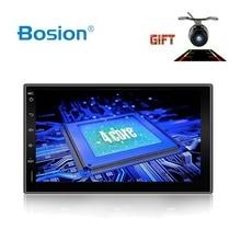 Bosion Quad Core 2 דין אנדרואיד 2G RAM 16GB ROM תמיכת 4G LTE SIM רשת רכב GPS אוניברסלי רכב רדיו נגן עם BT WIFI SWC