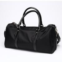 Waterproof Nylon Travel Bag Size L Carry On Luggage Bag Men Women Duffel Bags Travel Tote