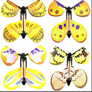 5pcs/lot magic butterfly flying butterfly from empty hands freedom butterfly magic tricks kids children toy