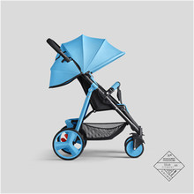 Sally Di Sld Baby Stroller Ultra Portable Folding Umbrella Car Sitting Down For Children