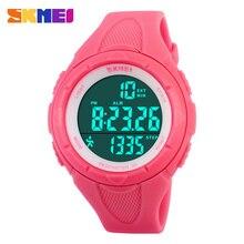 Nueva casual mujeres del reloj podómetro digital de fitness para mujeres de los hombres de moda al aire libre relojes skmei relojes deportivos 4 colores