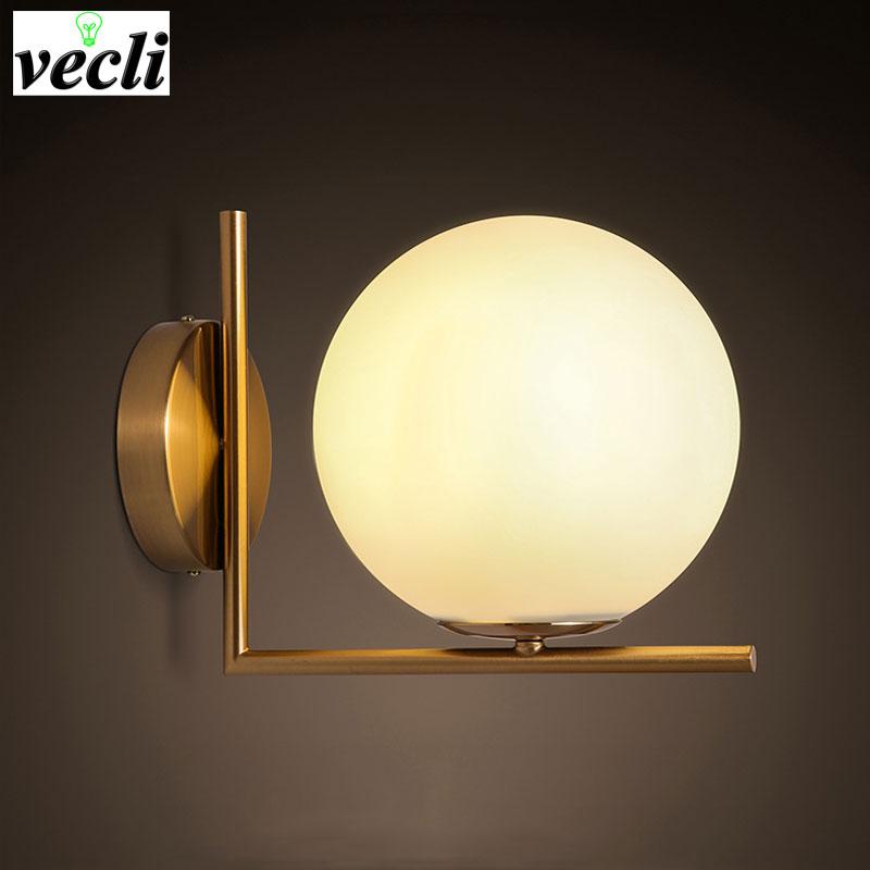 sconce moderno levou lampada de parede para sala de estar parede do quarto luz corpo de