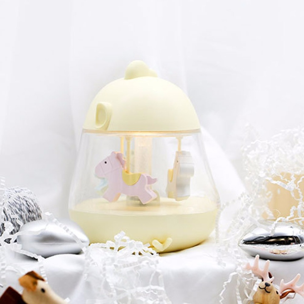 Creative USB Charging Carousel Music Light Led Bedside Night Light Rechargeable Touch Cute Music LampCreative USB Charging Carousel Music Light Led Bedside Night Light Rechargeable Touch Cute Music Lamp