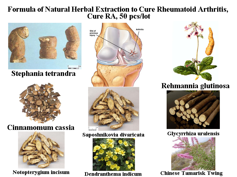 Formula of Natural Herbal Extraction to Cure Rheumatoid Arthritis, Cure RA, 50 pcs/lot