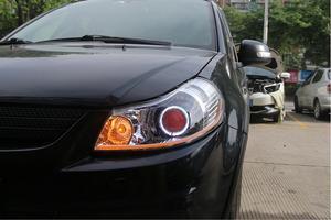 Image 3 - 2007 ~ 2012y רכב bumer ראש אור לסוזוקי SX4 פנס אביזרי רכב LED DRL HID קסנון ערפל לסוזוקי SX4 פנס