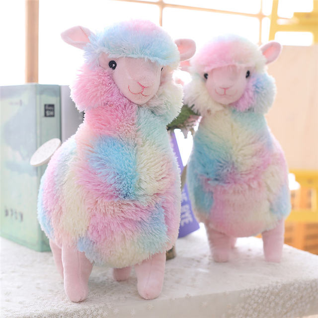 Alpaca arcoíris