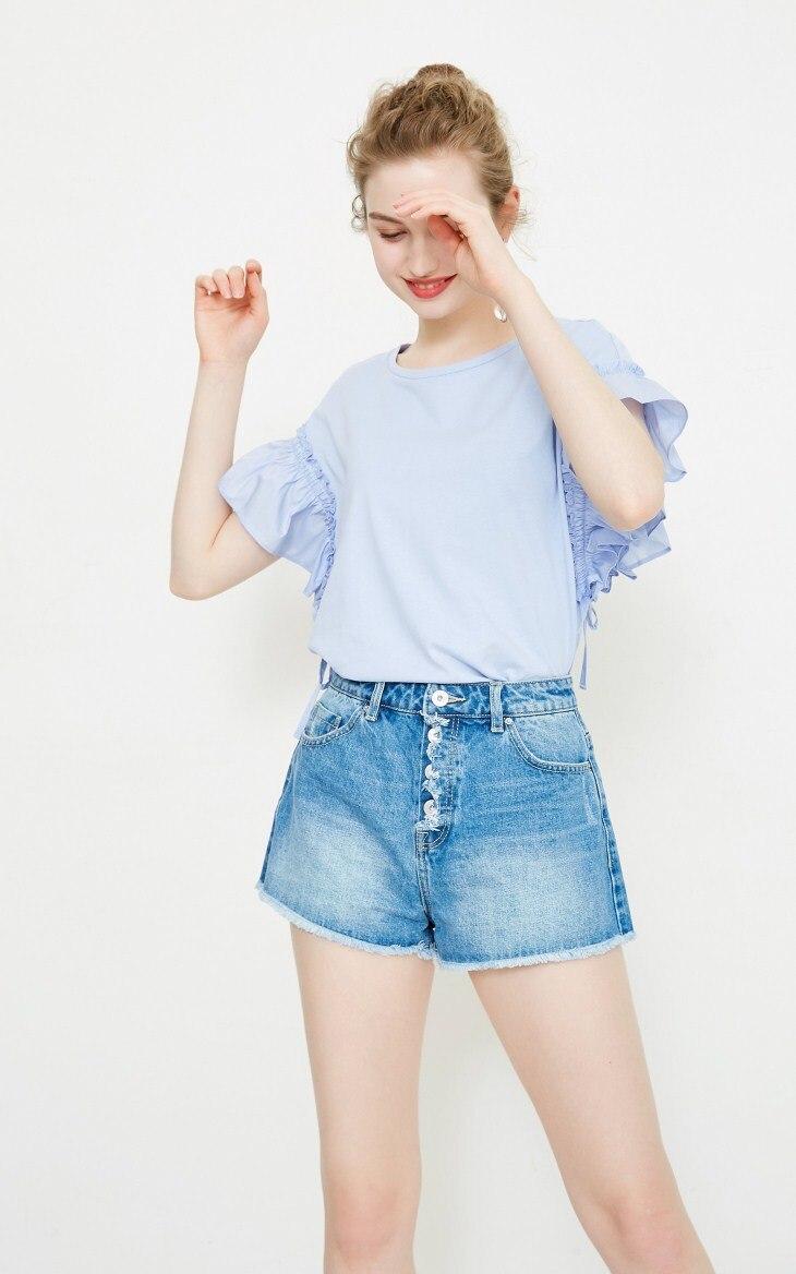 ba54be7c4 Vero Moda 100% Cotton Puppy Print Denim Shorts
