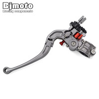 22MM 7 8 Handlebar CNC Adjustable Foldable Stunt Clutch Lever Perch Assembly For Honda Suzuki Yamaha