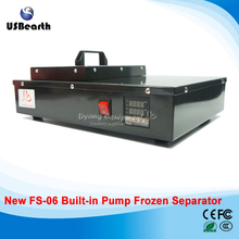 built in oil free pump frozen separator FS-06 LCD screen separator