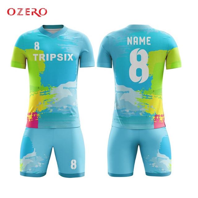 2d4fc87c4bf custom team football uniform dry fit soccer jersey print personalized football  jersey camisetas futbol fussball trikot